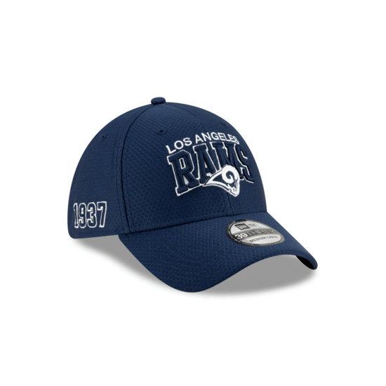 New Era Los Angeles Rams Cap Sideline HM 39THIRTY blau