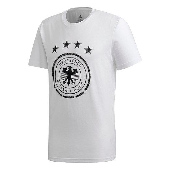 Adidas Deutschland DFB T-Shirt DNA EM 2021 Weiß