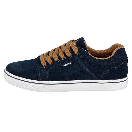 Lico Sneaker Jimdo marine/braun