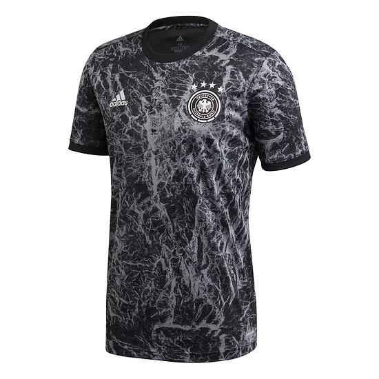 Adidas Deutschland DFB Prematch Shirt EM 2021 Schwarz