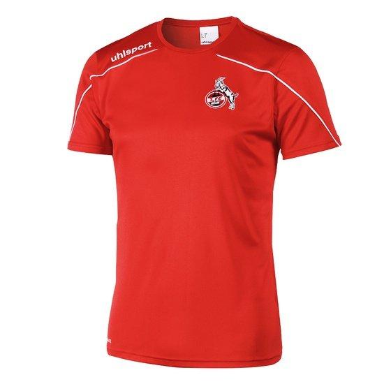 uhlsport 1. FC Köln Trainingsshirt Sprint rot/weiß