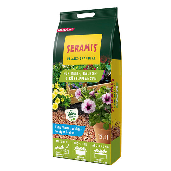 Seramis Pflanzgranulat für Beet- und Kübelpflanzen 12,5 Liter