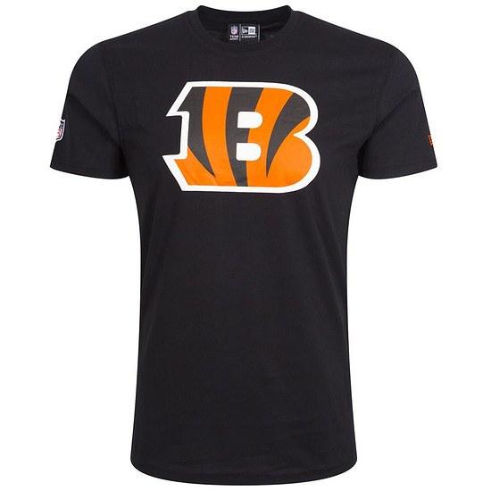 New Era Cincinnati Bengals T-Shirt Team Logo schwarz