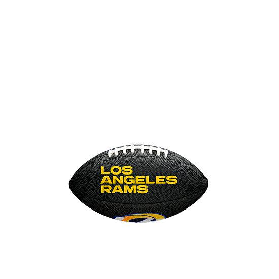 Wilson Los Angeles Rams Football Mini Team Logo schwarz