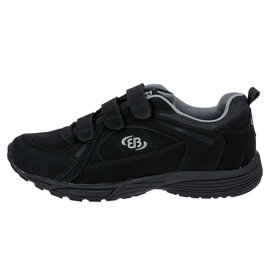 Brütting Walkingschuh Hiker V schwarz/grau