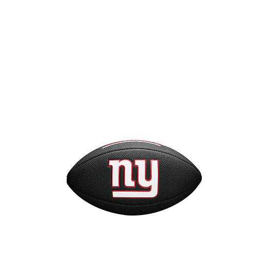 Wilson New York Giants Football Mini Team Logo schwarz