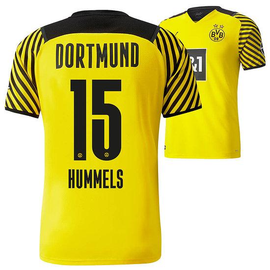 Puma Borussia Dortmund Heim Trikot HUMMELS 2021/2022 Kinder