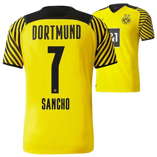 Puma Borussia Dortmund Heim Trikot SANCHO 2021/2022 Kinder