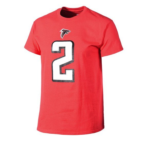 Majestic Athletic Atlanta Falcons T-Shirt Ryan Nr 2 rot