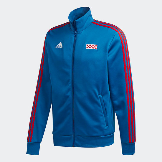 Adidas Kroatien Track Jacket EM 2021 Blau