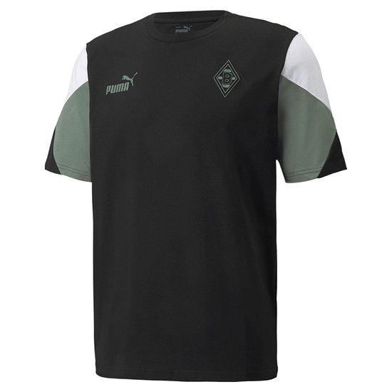 Puma Borussia Mönchengladbach T-Shirt Culture 2021/2022 Schwarz