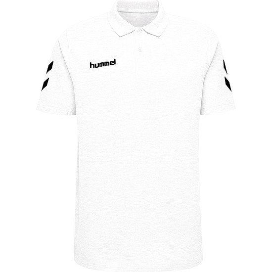 hummel Poloshirt Cotton Logo weiß