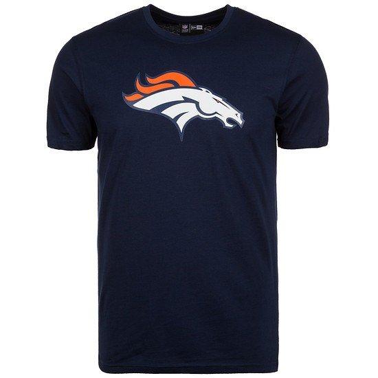 New Era Denver Broncos T-Shirt Team Logo schwarz