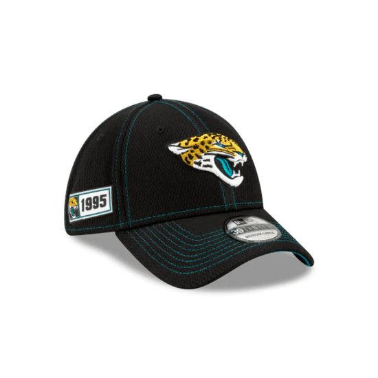 New Era Jacksonville Jaguars Cap On Field 39THIRTY schwarz