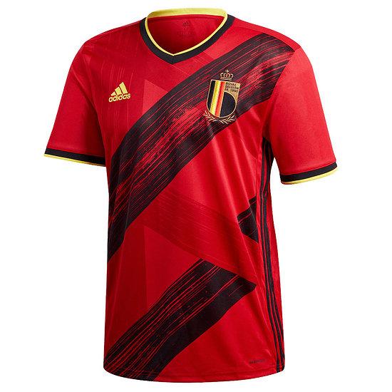 Adidas Belgien Trikot Heim EM 2021 Rot