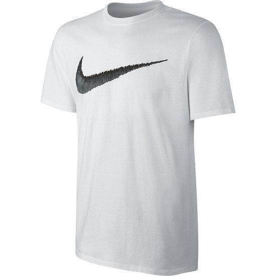 Nike Swoosh T-Shirt weiß/schwarz
