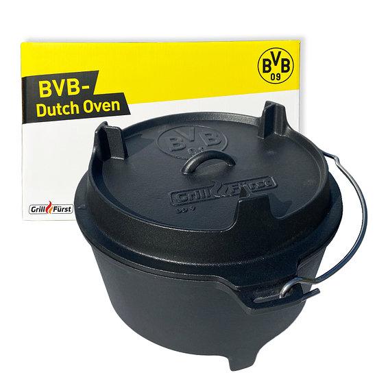 Grillfürst Borussia Dortmund Dutch Oven BBQ DO9 schwarz