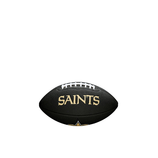 Wilson New Orleans Saints Football Mini Team Logo schwarz