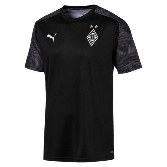 Puma Borussia Mönchengladbach Warm Up Shirt Schwarz