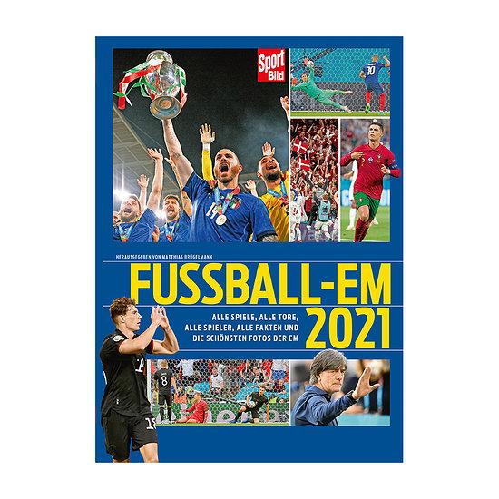 Sport BILD Buch Fußball EM 2021