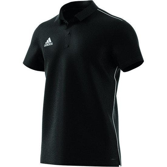 Adidas Poloshirt Core 18 Schwarz