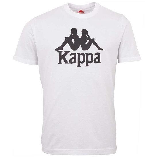 Kappa T-Shirt CASPAR weiß