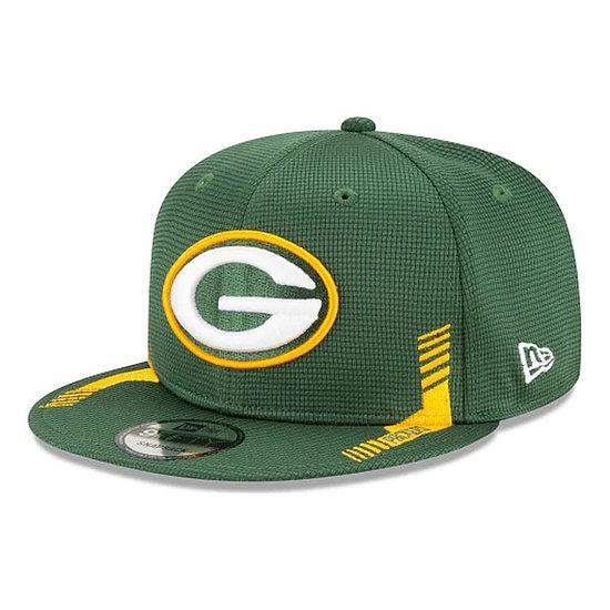New Era Green Bay Packers Cap Sideline Heim 9FIFTY schwarz