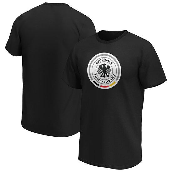 Fanatics DFB T-Shirt Iconic Primary Logo Graphic schwarz