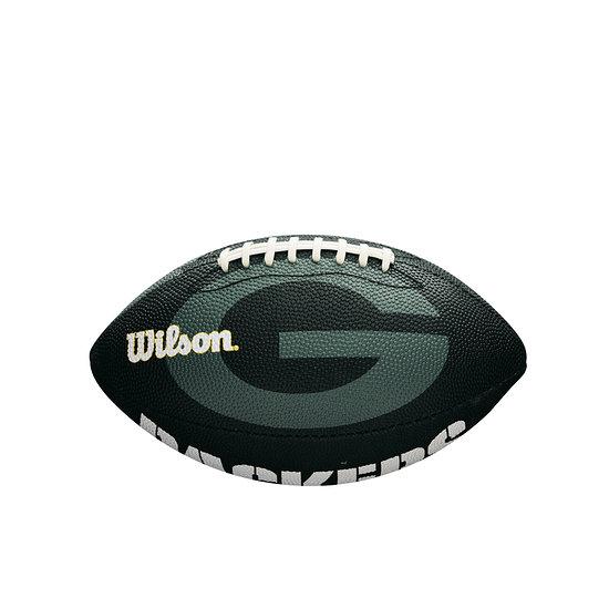 Wilson Green Bay Packers Football Team Logo Junior grün
