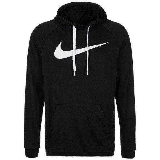 Nike Hoodie Performance Dry Fit Schwarz