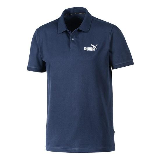 Puma Poloshirt ESS peacoat/weiß