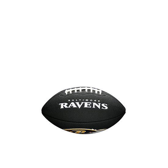 Wilson Baltimore Ravens Football Mini Team Logo schwarz