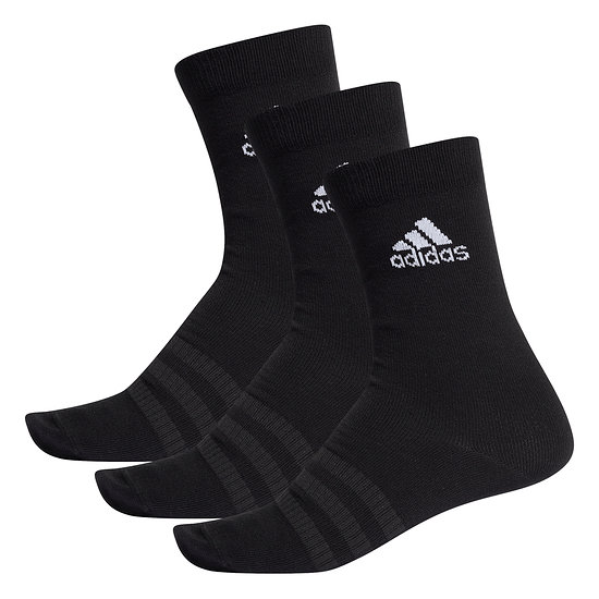 Adidas Sportsocken 3er Pack LIGHT CREW Schwarz