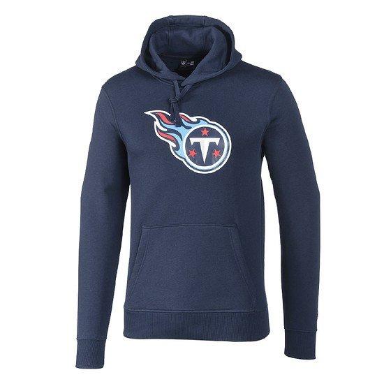New Era Tennessee Titans Hoodie Team Logo blau