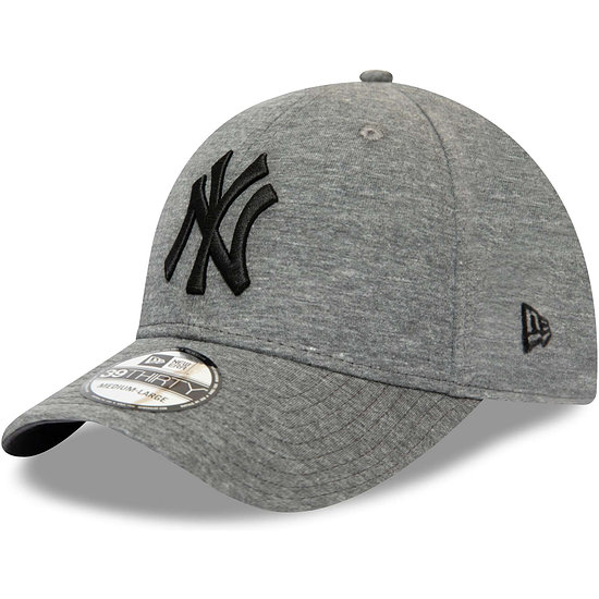 New Era New York Yankees Cap Jersey Essential 39THIRTY grau
