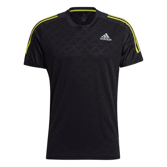Adidas T-Shirt OWN THE RUN Laufshirt Schwarz