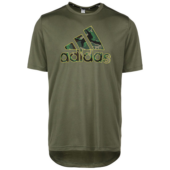 Adidas T-Shirt CAMO GT2 Oliv