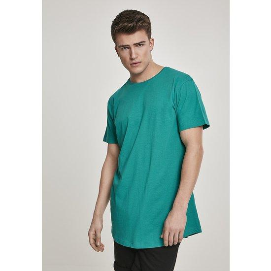 URBAN CLASSICS T-Shirt Shaped Long fresh green