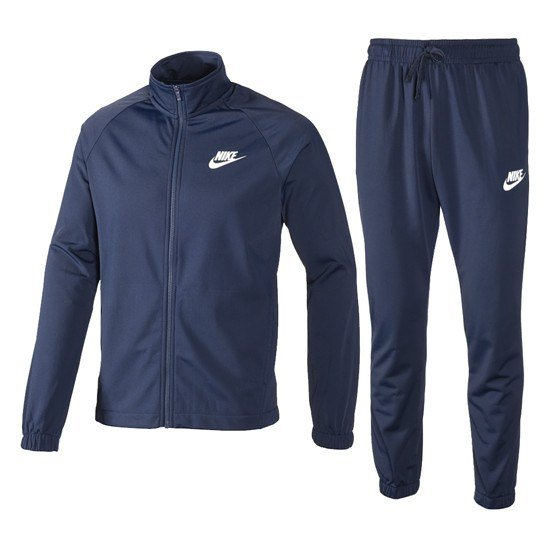 Nike Trainingsanzug Sportswear Classic Blau/Blau