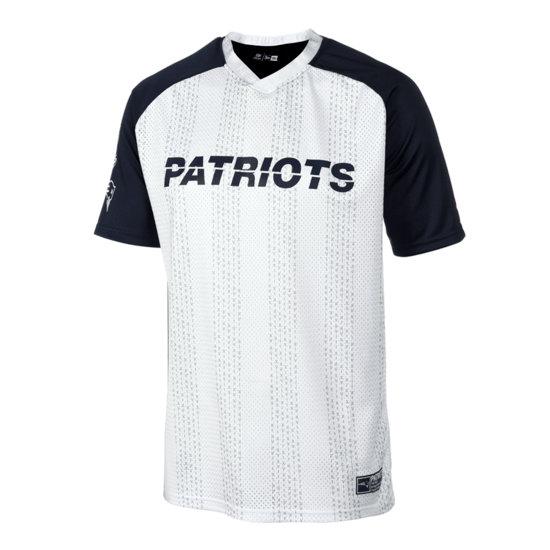 New Era New England Patriots T-Shirt Oversized weiß/blau