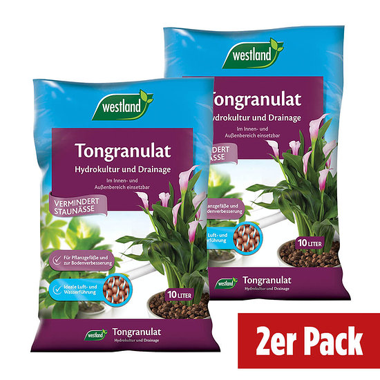 Westland Tongranulat im Doppelpack = 20 Liter