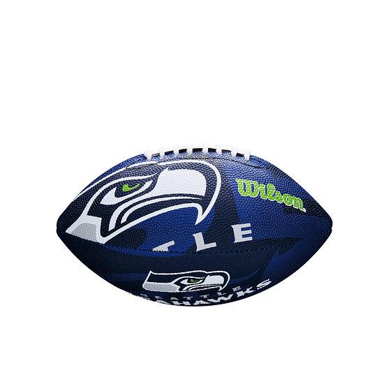 Wilson Seattle Seahawks Football Team Logo Junior blau