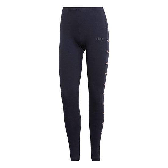 Adidas Tights Core Linear schwarz/pink