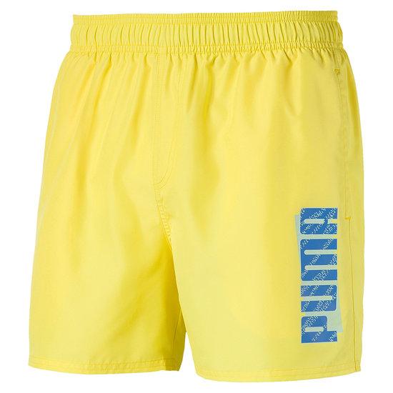 Puma Freizeit- und Badeshorts Gelb