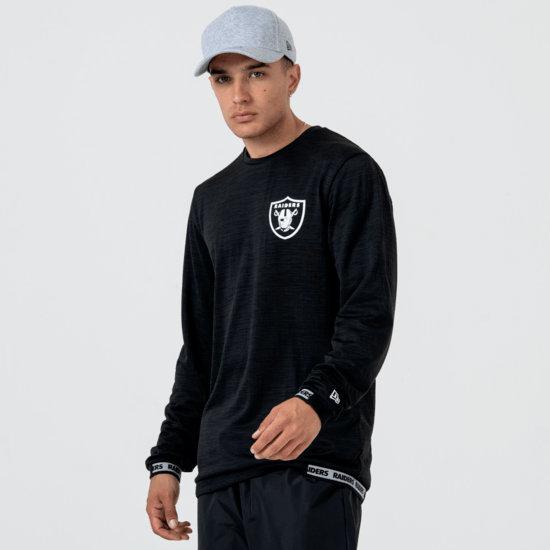 New Era Las Vegas Raiders Longsleeve Engineered schwarz