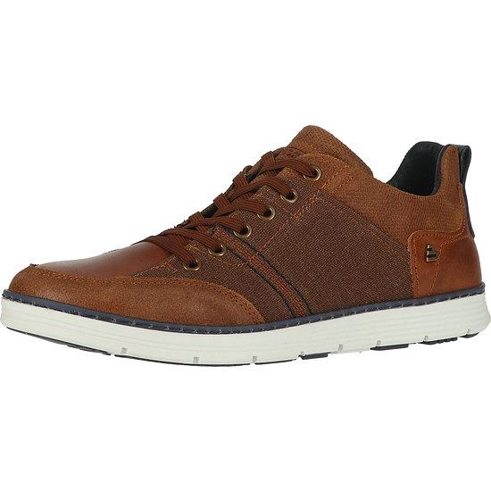 Bullboxer Sneaker Leder/Textil braun/cognac
