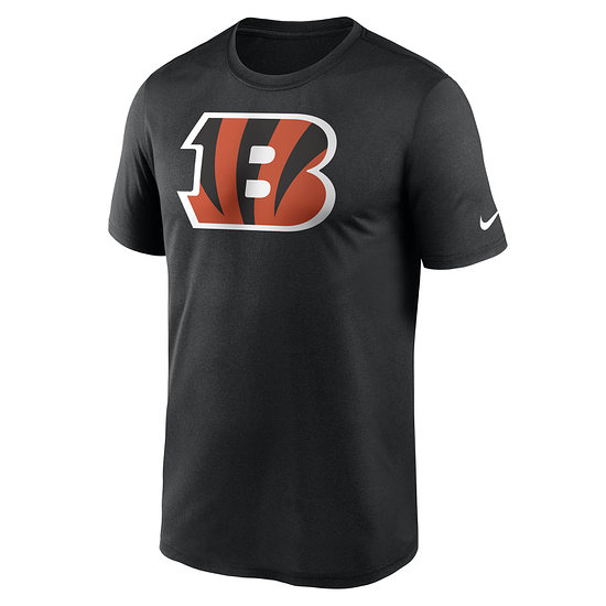 Nike Cincinnati Bengals T-Shirt Logo Legend schwarz