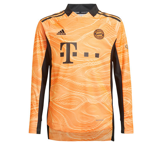 Adidas FC Bayern München Torwarttrikot 2021/2022 Kinder