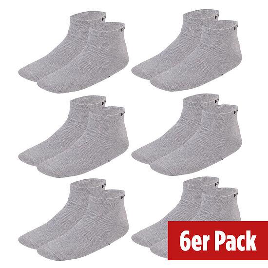 Kappa Socken Sneaker 6er Pack Grau