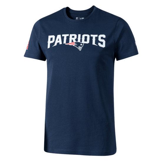 New Era New England Patriots T-Shirt Fan blau